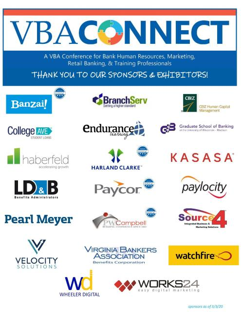 Connect Conference Sponsors