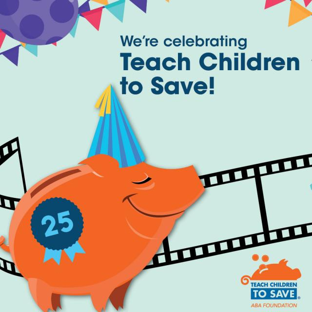 Teach Children to Save logo