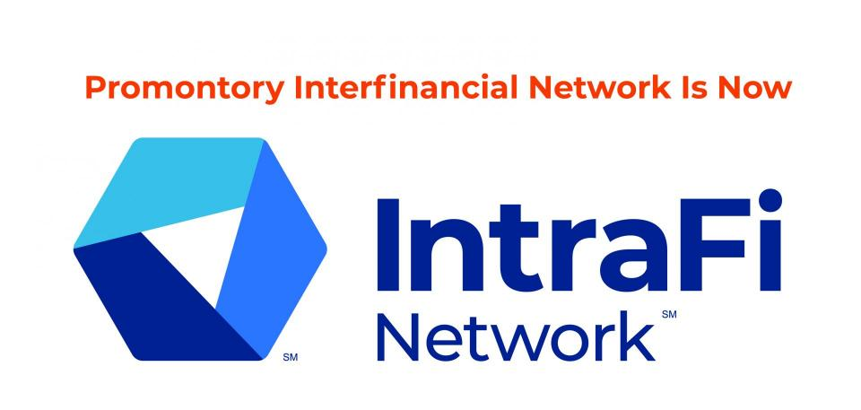 IntraFi Network logo (formerly Promontory Interfinancial Network)